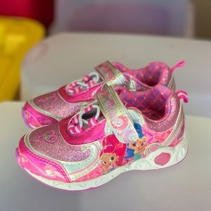 Shoes - Shimmer and Shine Toddler Girls Light Up Shoe New
